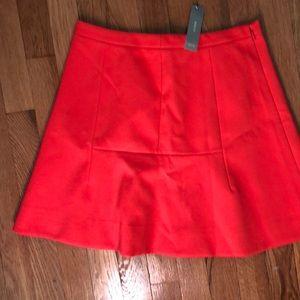 J.crew a-line skirt NWT